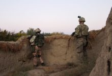 Czech and US soldiers in Afghanistan's Parwan province
