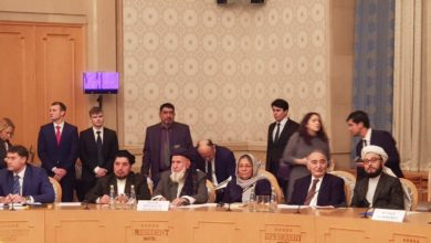 Representatives from the Afghanistan High Peace Council, Taliban and Russian Federation