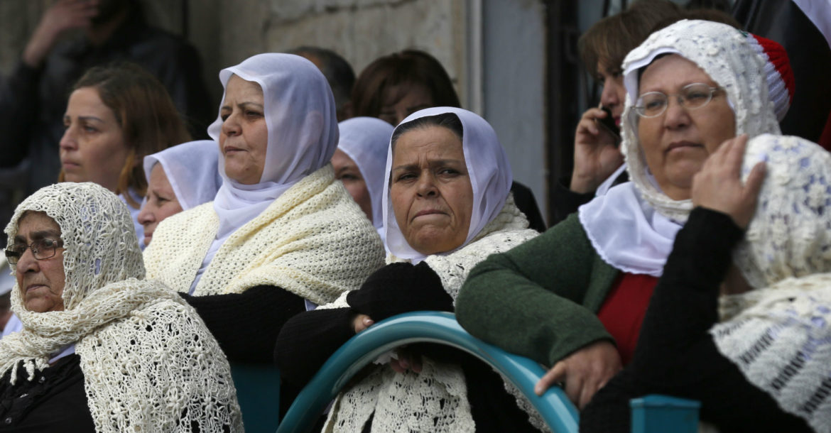 Druze women in Syria