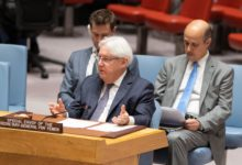 UN Special Envoy for Yemen Mark Griffiths