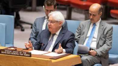 UN Special Envoy for Yemen Martin Griffiths