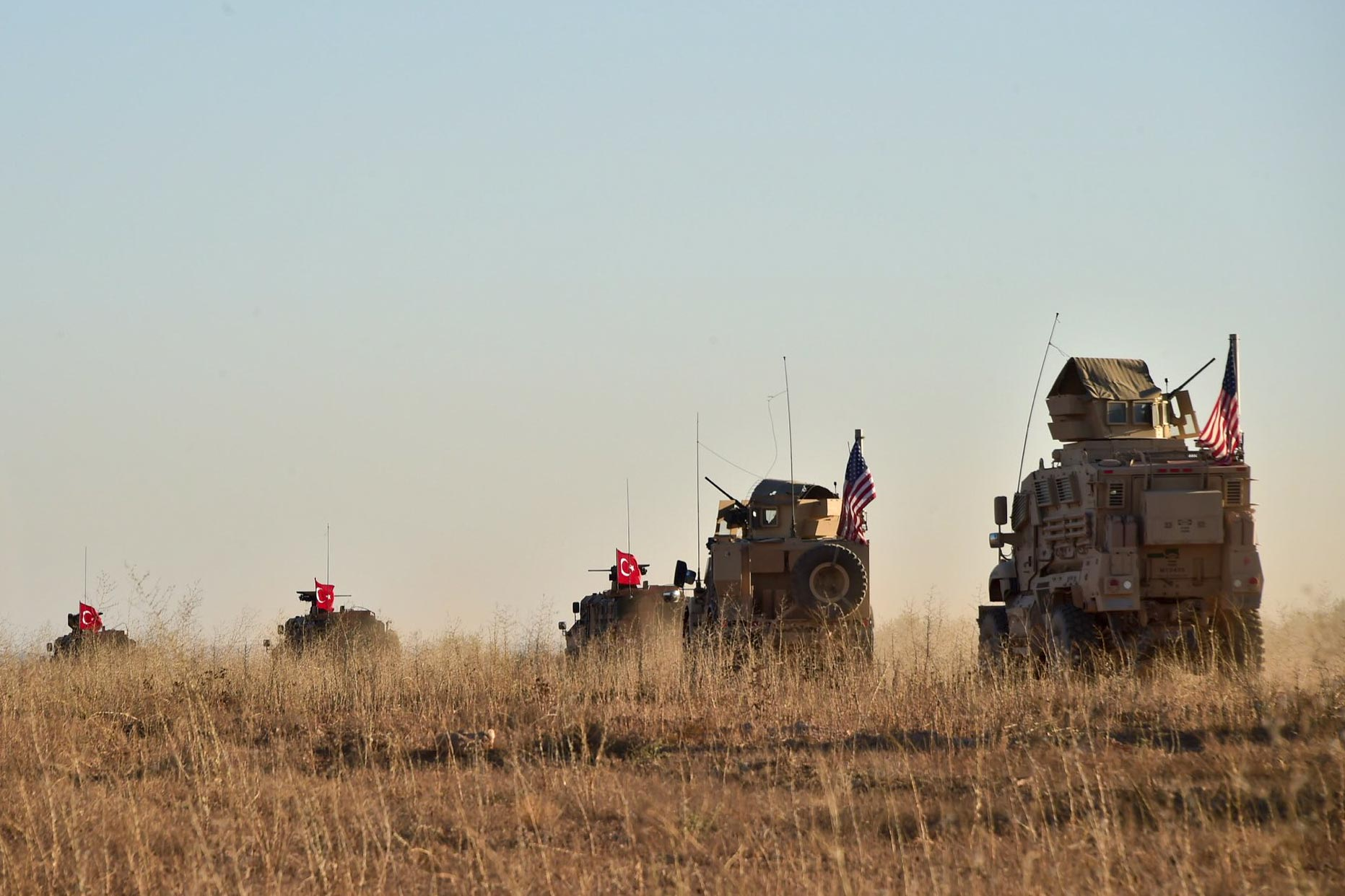 US presses for deal with Turkey to protect Syrian Kurdish partners