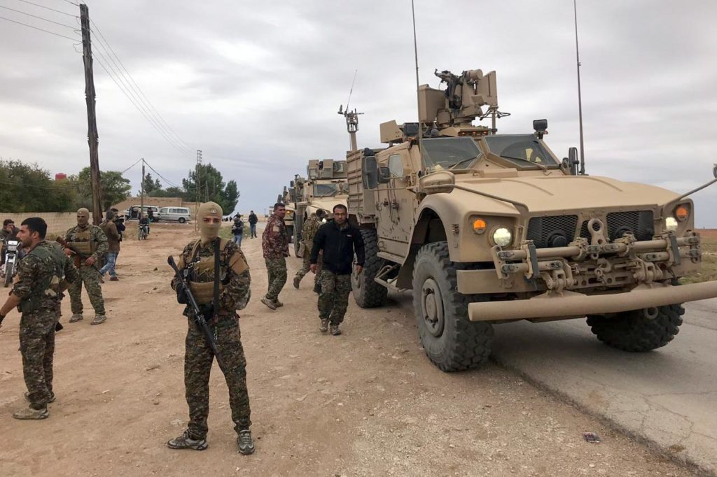 US forces patrol northern Syria