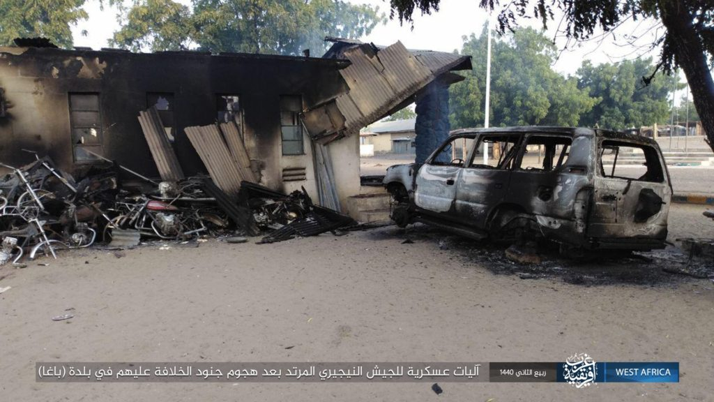 ISWA attack on Baga military base, Nigeria