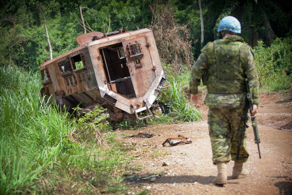 Joint operation against ADF in Beni
