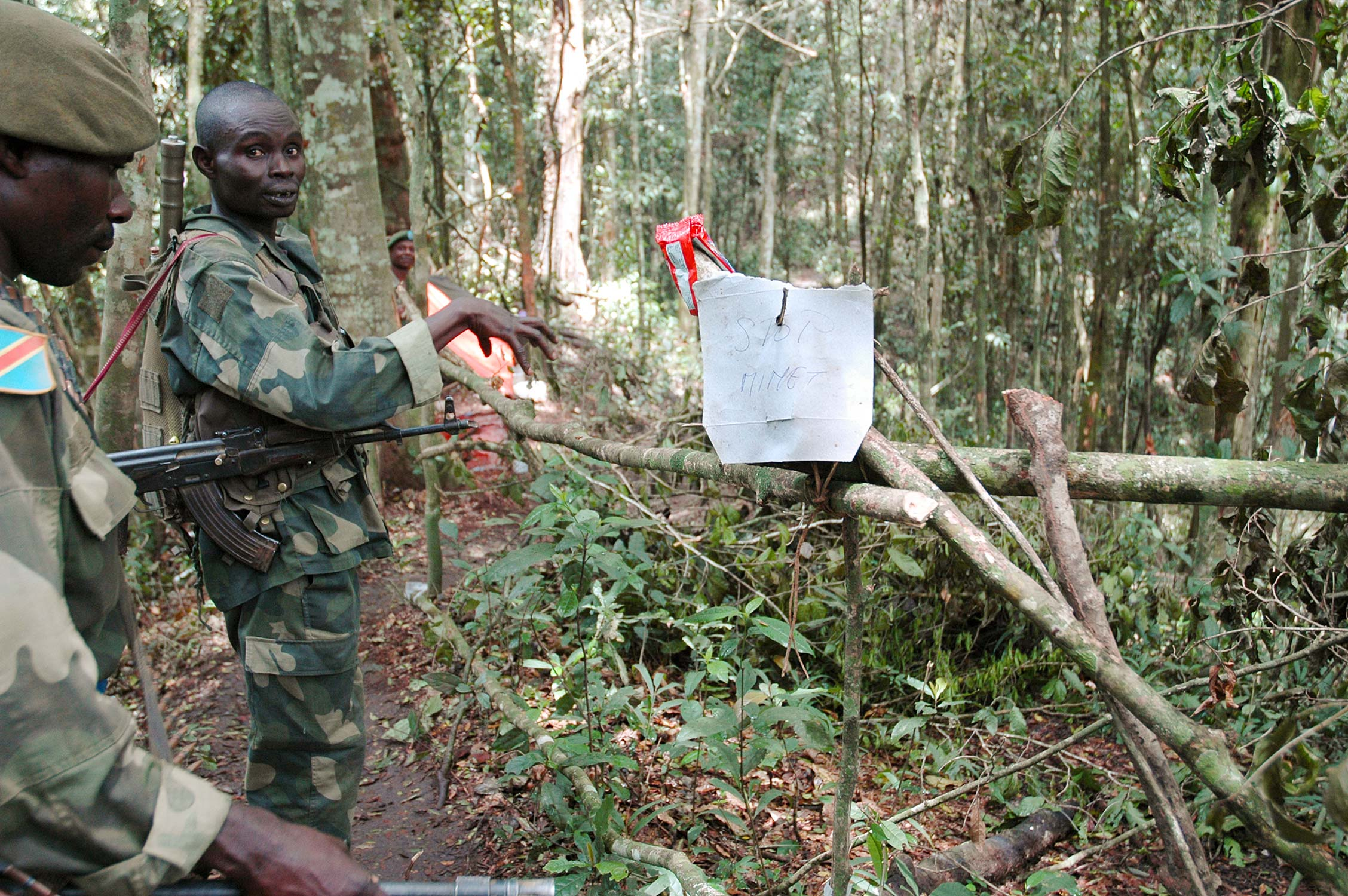 ADF rebels as DR Congo army offensive ...