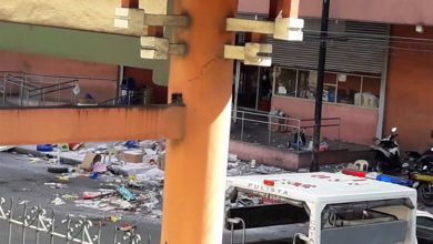 Aftermath of an explosion at the South Seas Mall in Cotobato City, the Philippines