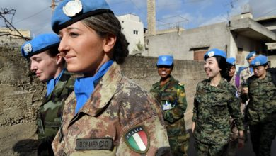 UNIFIL Peacekeepers Patrol