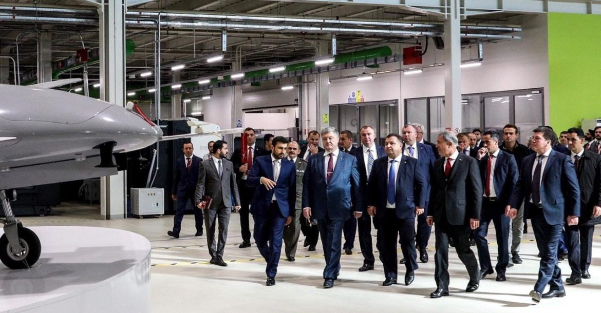 Petro Poroshenko with the Turkish officials