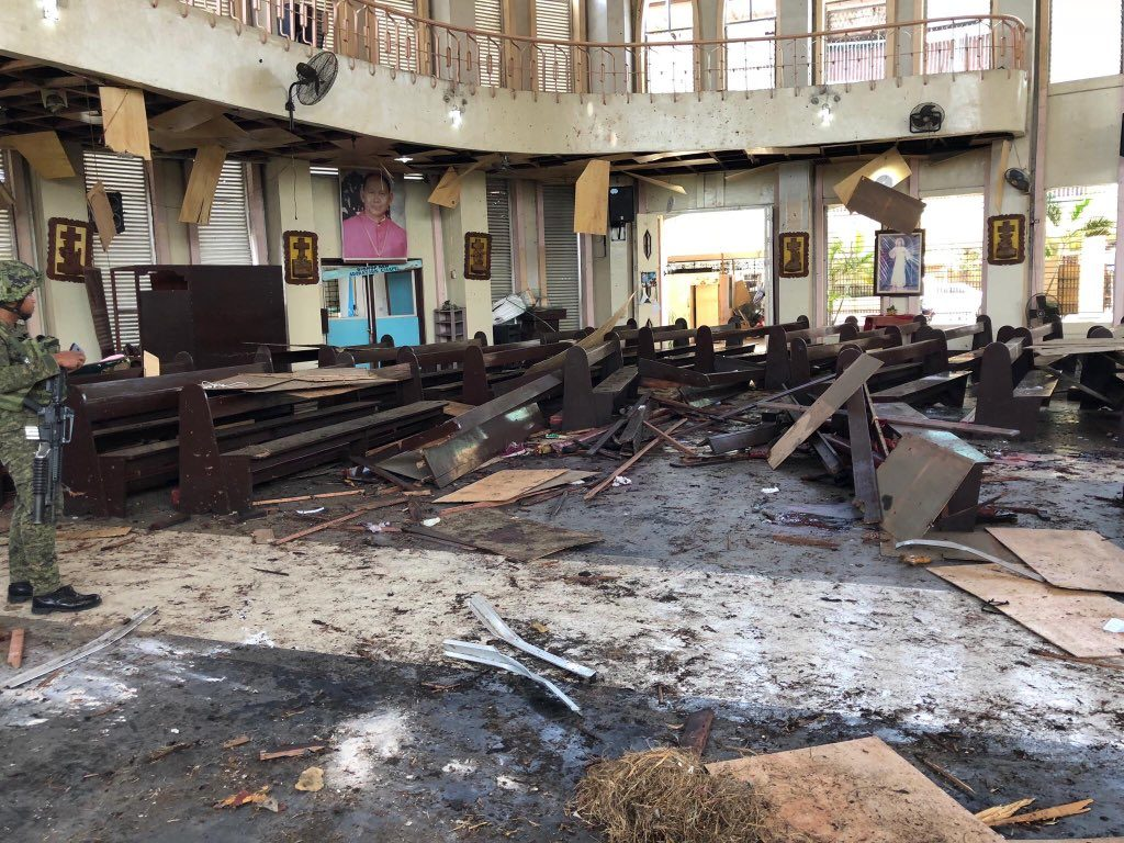 Jolo cathedral bombing