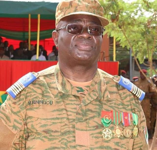 Burkina Faso Chief of the General Staff of the Armed Forces Moise Miningou
