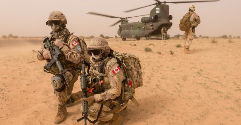Canada CH-147F Chinook helicopter Mali