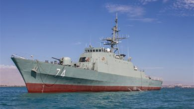 Islamic Republic of Iran Navy Moudge-class frigate Sahan