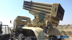 ISWA captures BM-21 Grad in Baga