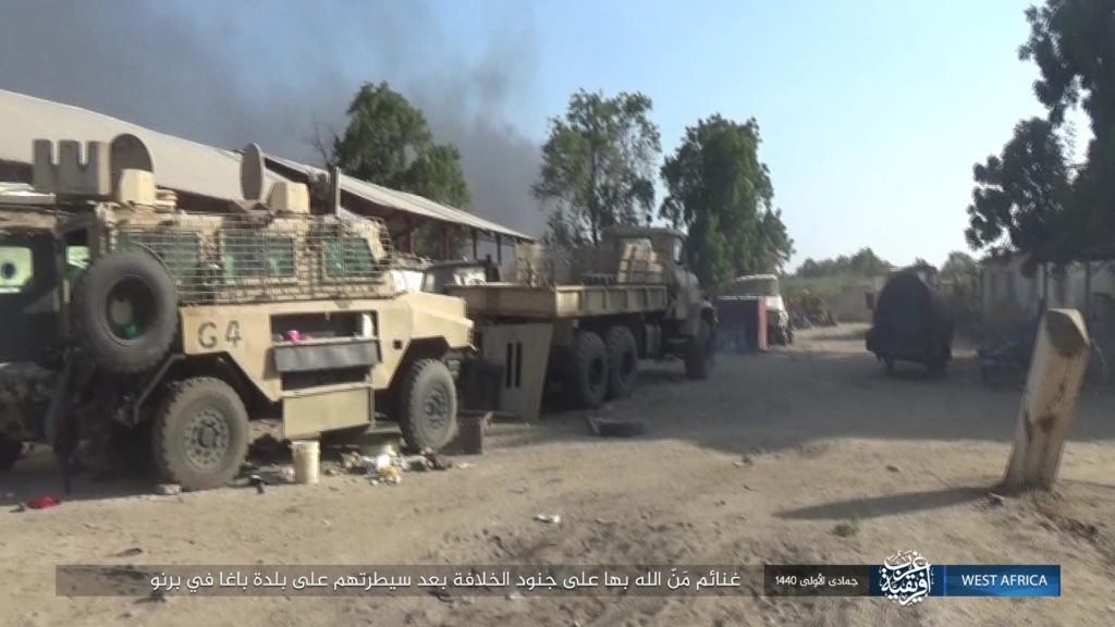ISWA captures Reva mine-protected vehicle in Baga