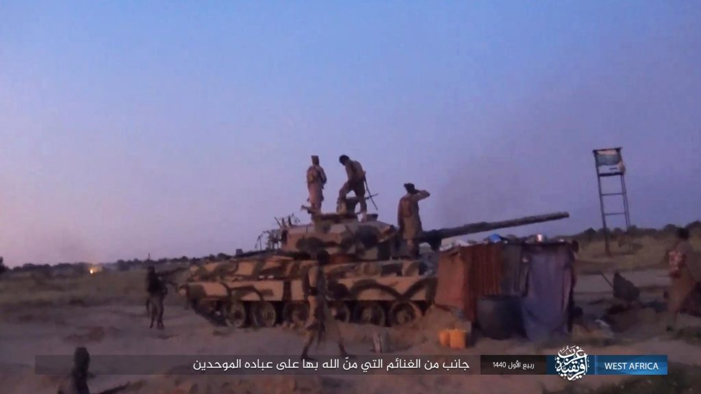 ISWA captures British Vickers Mk 3 main battle tank in Kareto
