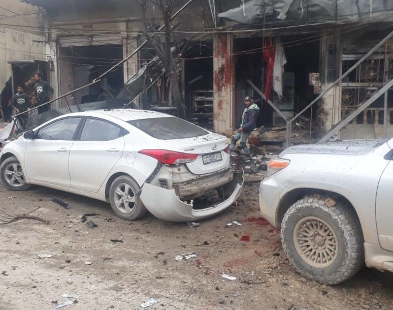 A suicide bomb attack was reported in the Syrian city of Manbij