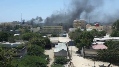 A car bomb detonated outside the Ministry of Petroleum in the Somali capital Mogadishu