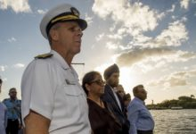 U.S. Indo-Pacific Command head Adm. Phil Davidson