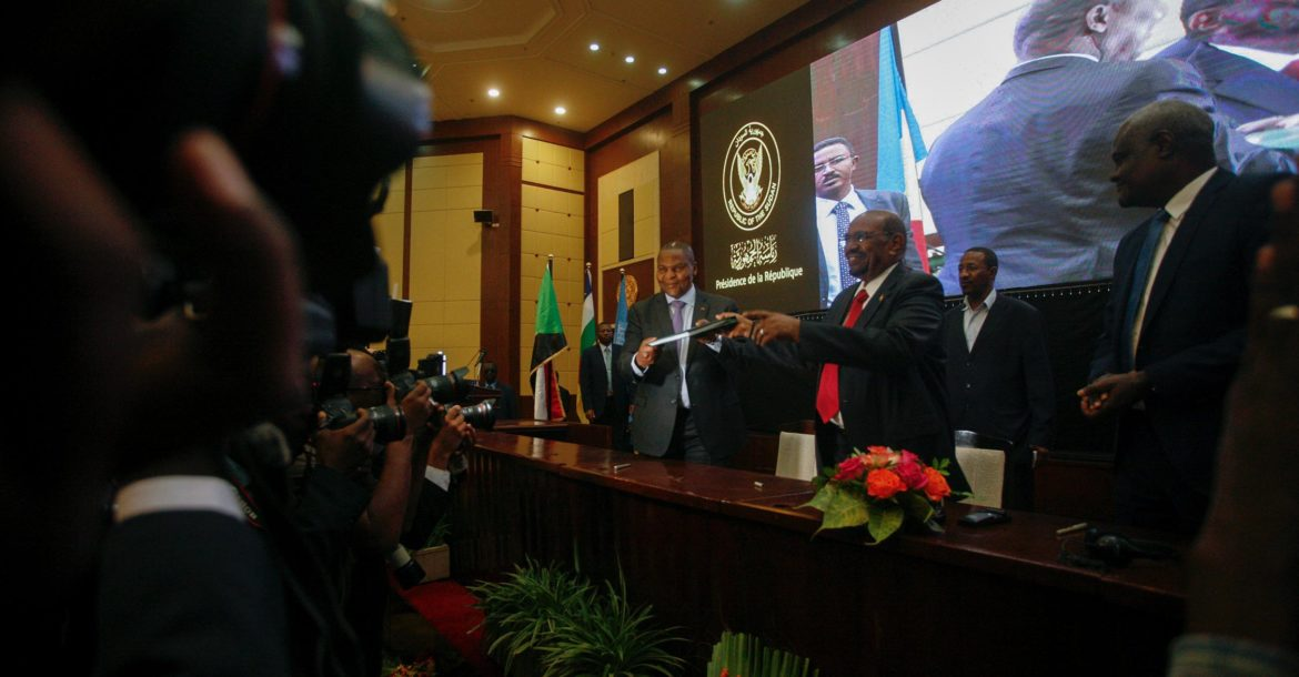 CAR peace deal initialled