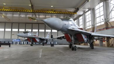 Serbia MiG-29 jets donated by Belarus