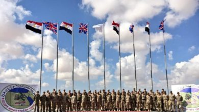UK and Egypt joint exercise Ahmose