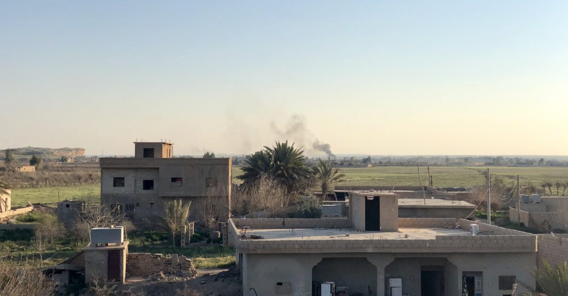 SDF continue ISIS clearing operations inside Baghuz, Syria