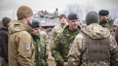 Canadian Army Operation UNIFIER in Ukraine