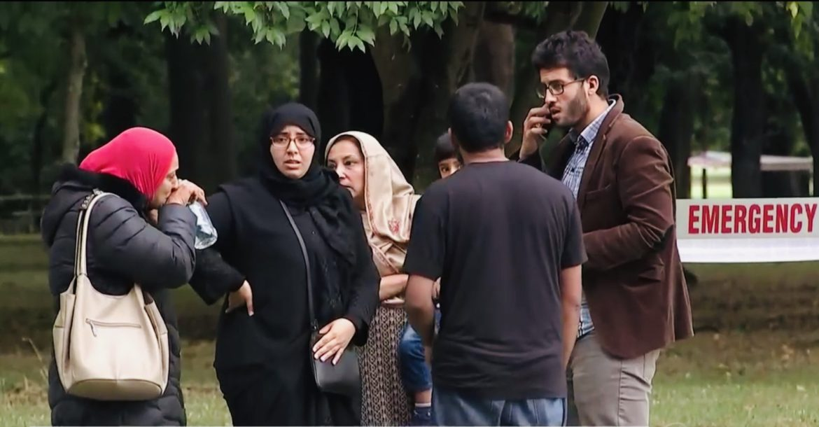 Survivors of the mosque attacks in Christchurch, New Zealand