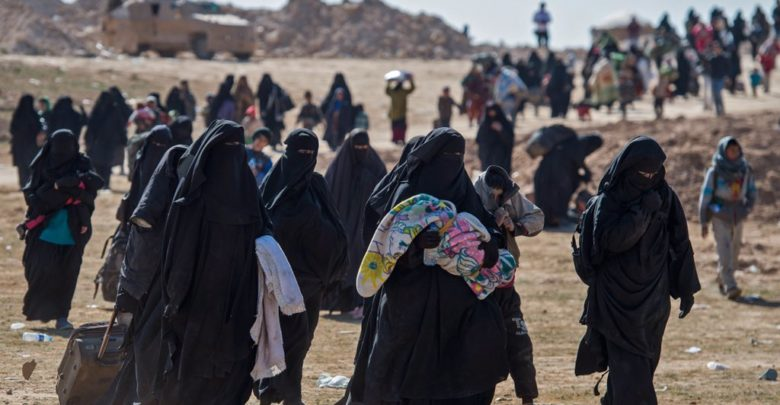 Thousands of civilians fled Baghuz as the SDF closed in on the last ISIS redoubt in Syria