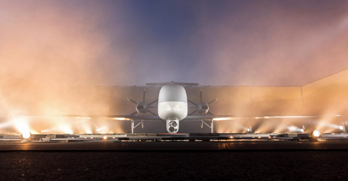 Eurodrone model unveiled