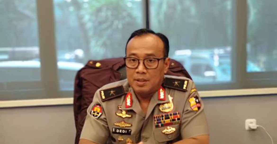 Indonesian national police spokesperson Dedi Prasetyo