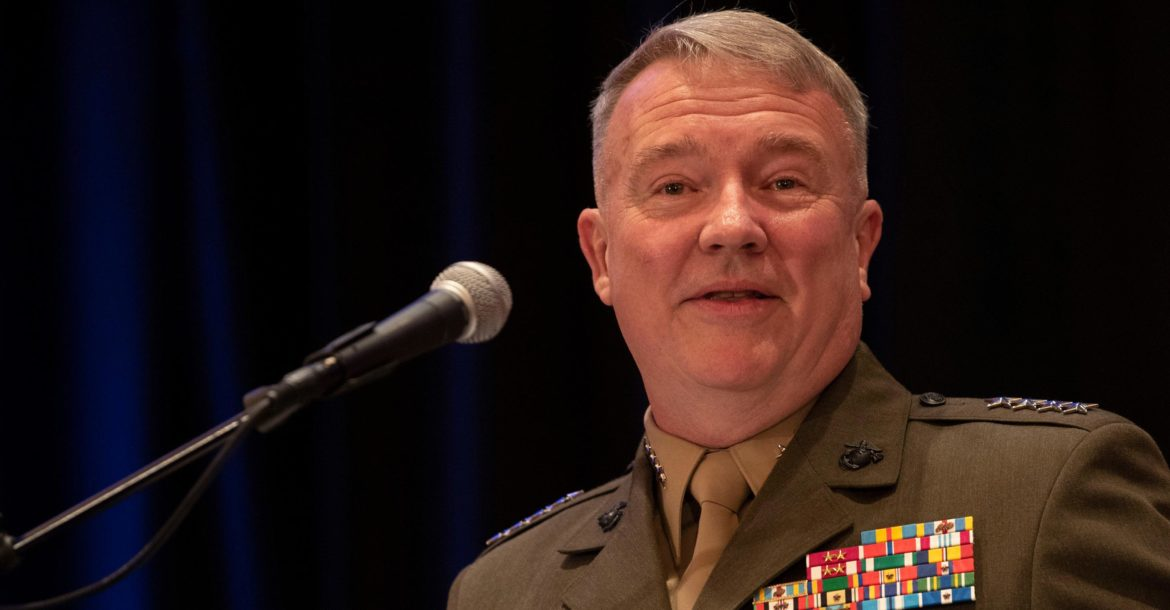 CENTCOM Commander General Kenneth F. McKenzie