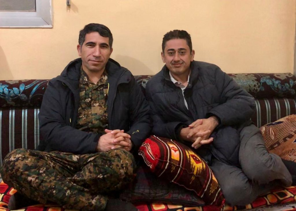 Polat Can and Mutlu Civiroglu in Syria