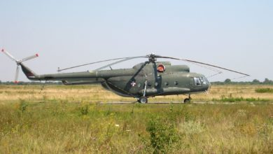 Serbian Air Force Mi-8 helicopter