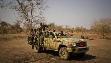 SPLM-N rebels in Sudan