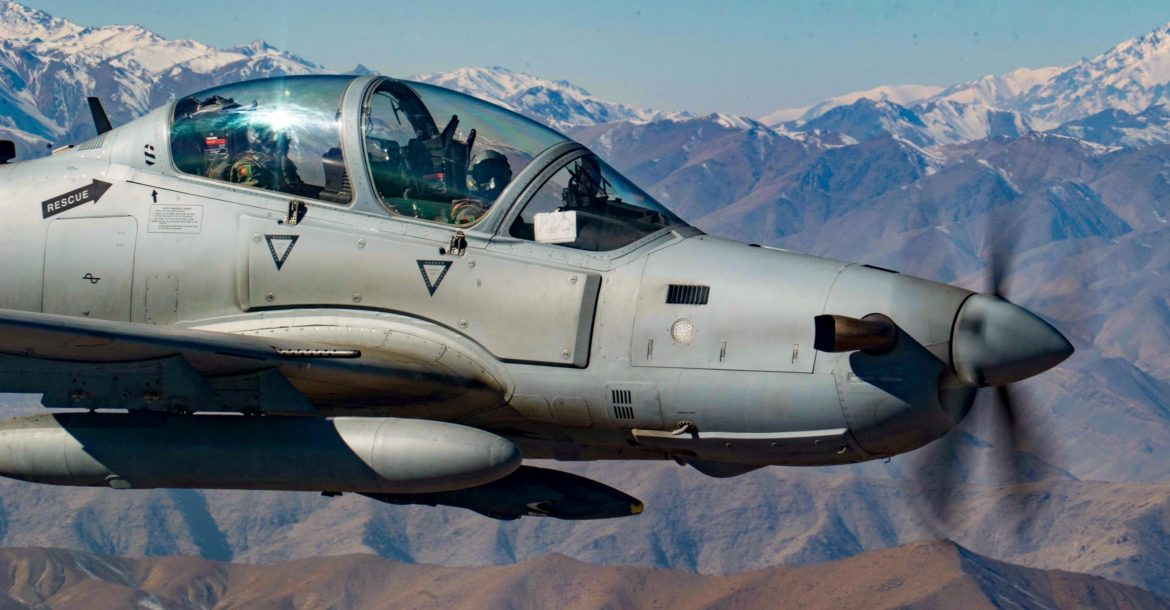 Sierra Nevada awarded 5-year Afghanistan A-29 training contract as