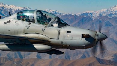 Afghan Air Force A-29 Training