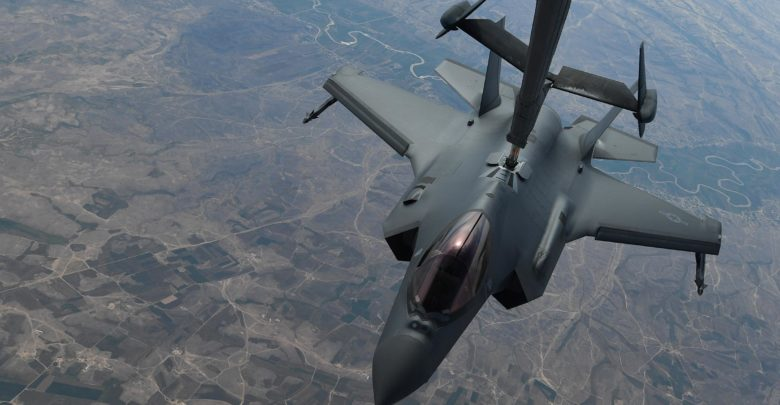 US Air Force F-35A conducts first ever air interdiction