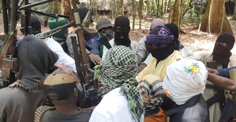 Islamic State Central Africa Province militants in DR Congo