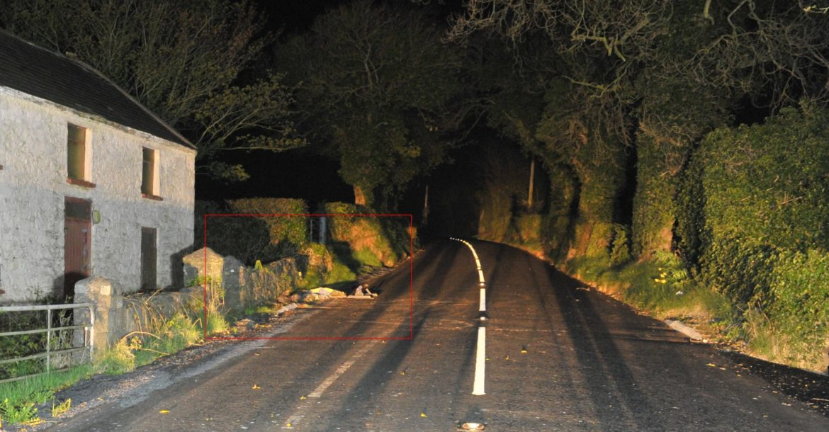 Mortar tube and command wire discovered near Castlewellan