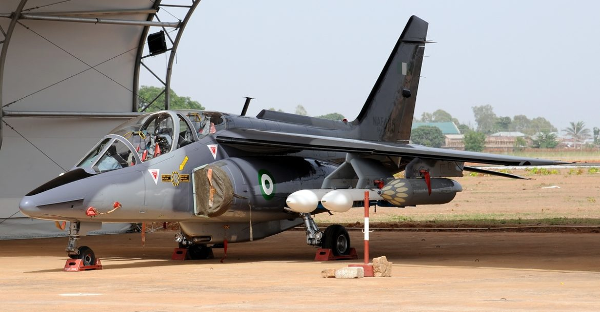 Nigeria Air Force Alpha jet