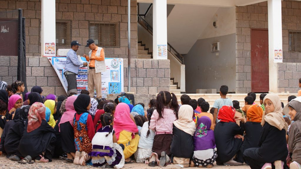 UNICEF mine awareness in Yemen