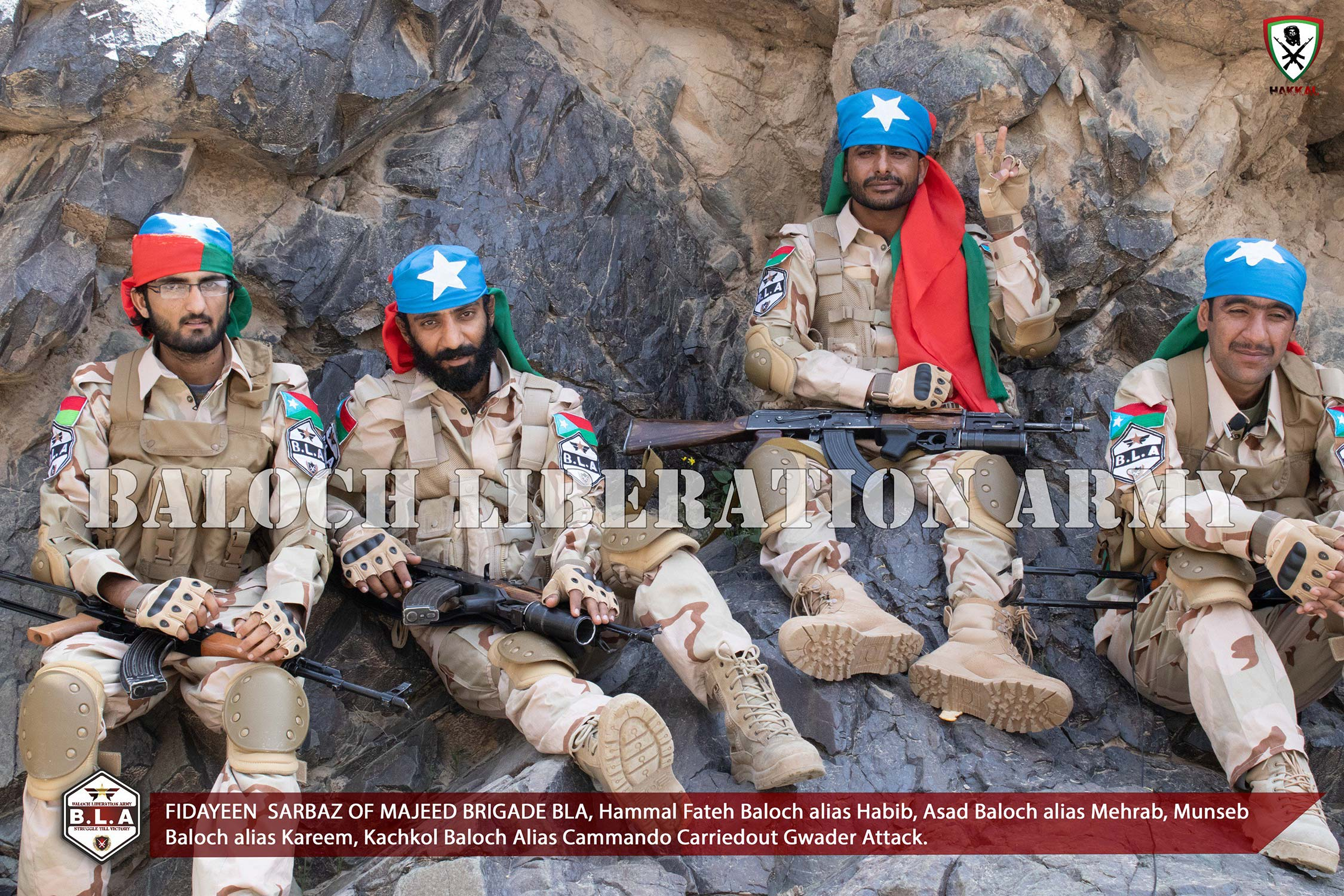Image result for Balochistan Liberation Army