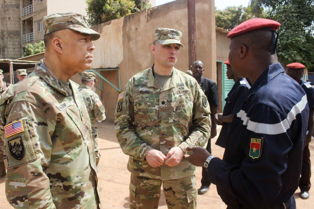 DC National guard in Burkina Faso