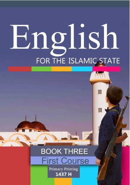 Islamic State English textbook for schools – cover