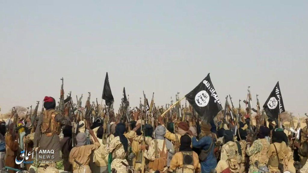 ISIS fighters in the Sahel
