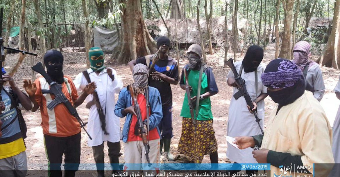 Islamic State Central Africa Province fighters
