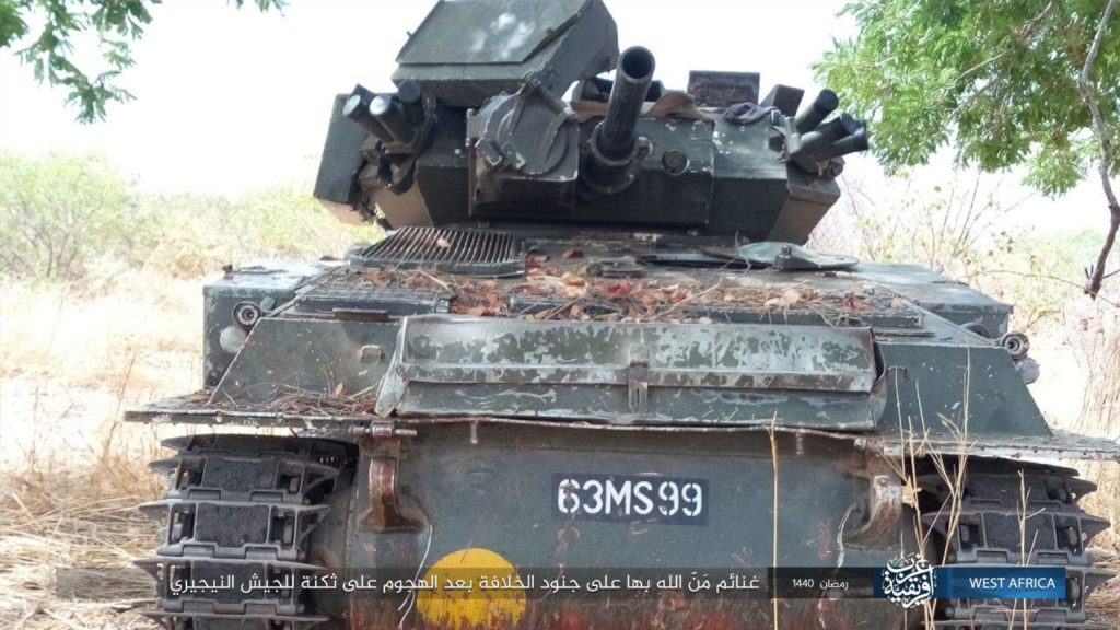 Nigeria FV101 Scorpion captured by ISWAP