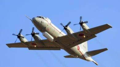 Japan Maritime Self-Defence Force P-3C Orion in Japan